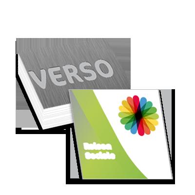 Carte De Visite Carre 55x55 Recto Verso 300g