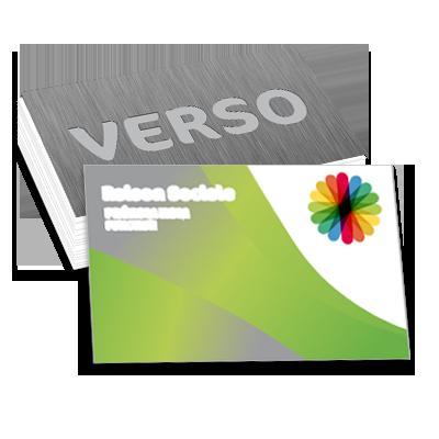 Personnaliser Et Commander Carte De Visite 85x55 Recto Verso 300 G